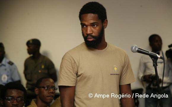 Sedrick de Carvalho is one of the Angola15, a group of young activists currently on trial in Angola.