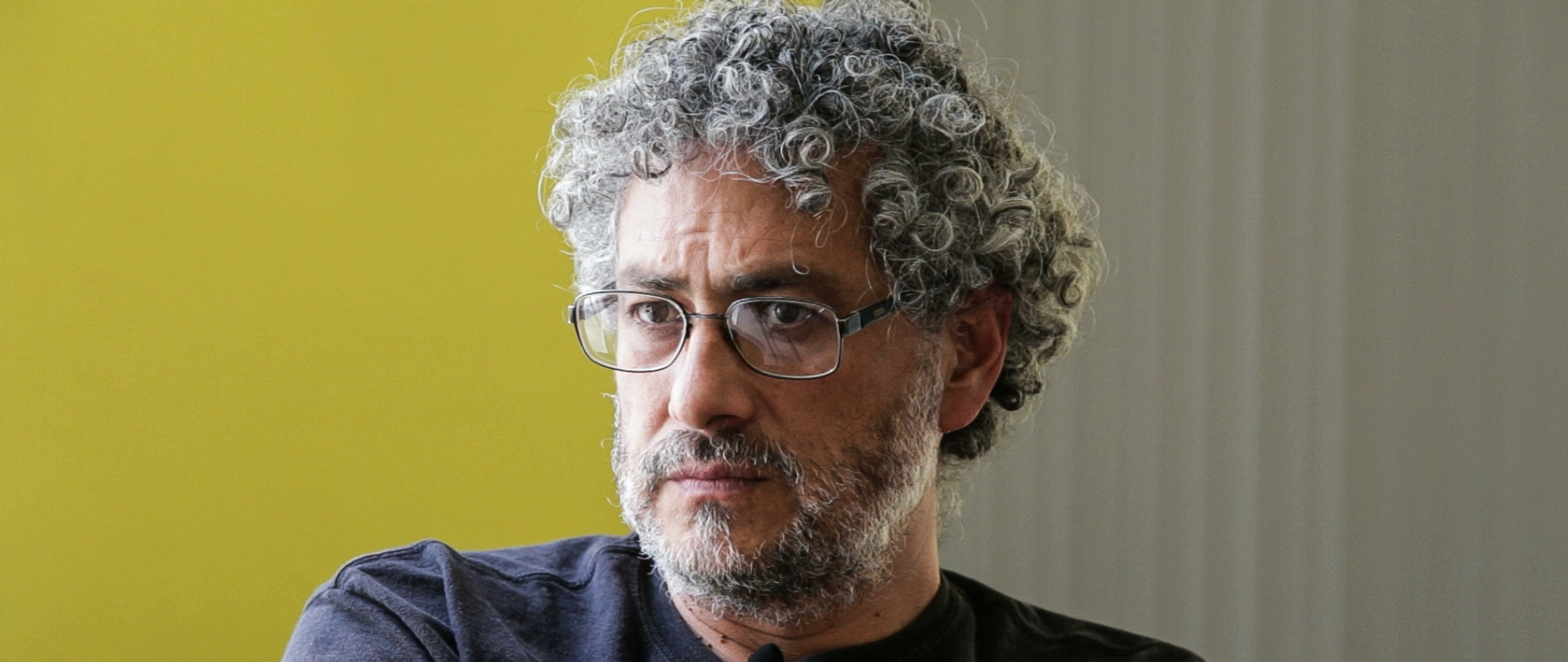 Portrait of Gustavo Castro. Environmental and Human rights activist.